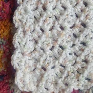 Bedding - 🌼New Handmade Crocheted Baby Blanket 37 x 37 🌼